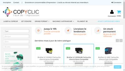 Site internet de Copyclic