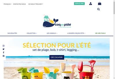 Site internet de Coqenpate