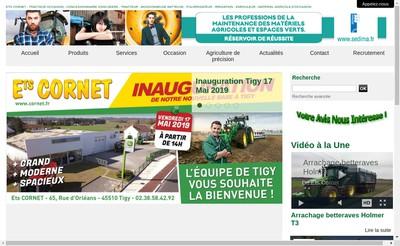 Site internet de Etablissements Cornet