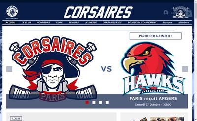 Site internet de Corsaires