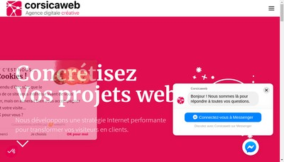 Site internet de Corsicaweb