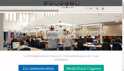 Site internet de Media Track