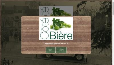 Site internet de Cote Biere