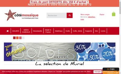 Site internet de Cote Mosaique SARL