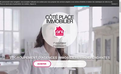 Site internet de Agence Cote Place