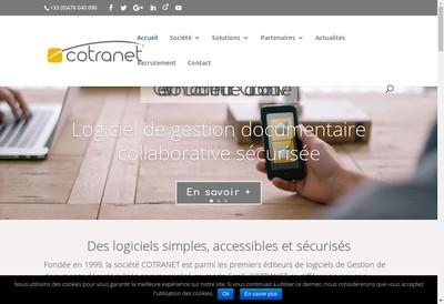 Site internet de Cotranet