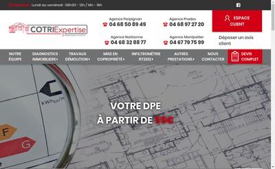 Site internet de Cotri