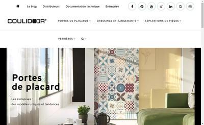 Site internet de Coulidoor