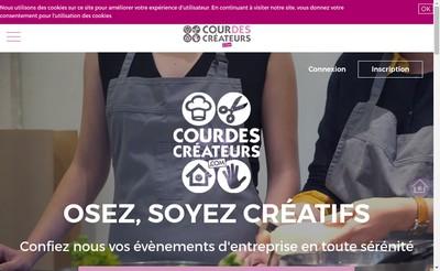Site internet de Cour des Createurs