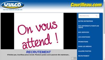 Site internet de Courilleau Pneus