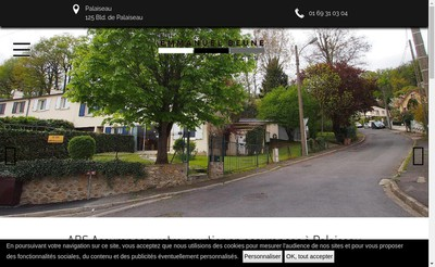 Site internet de Abs Assurances
