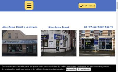 Site internet de Cabinet Libre'Assur