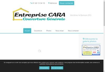 Site internet de Entreprise Cara