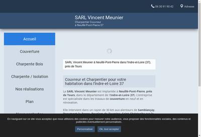 Site internet de SARL Vincent Meunier