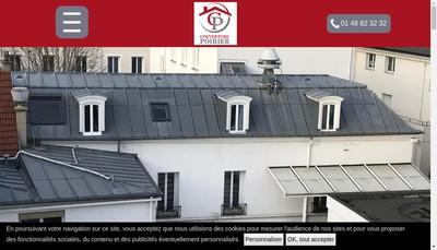 Site internet de Couverture Poirier