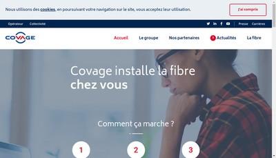 Site internet de Covage