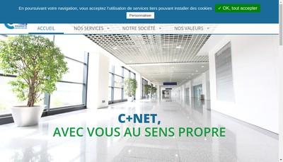 Site internet de C + Net