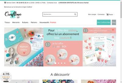Site internet de Craftine