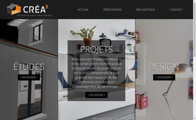 Site internet de Crea3