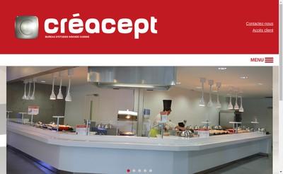 Site internet de Creacept