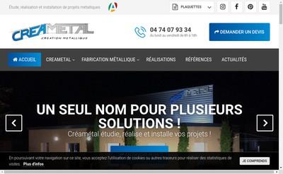 Site internet de Crea System