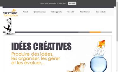 Site internet de Pose'Nature Creativite Formation Bj'Id