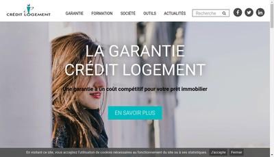 Site internet de Credit Logement