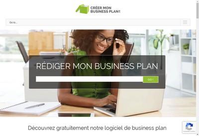 Site internet de Créer Mon Business Plan