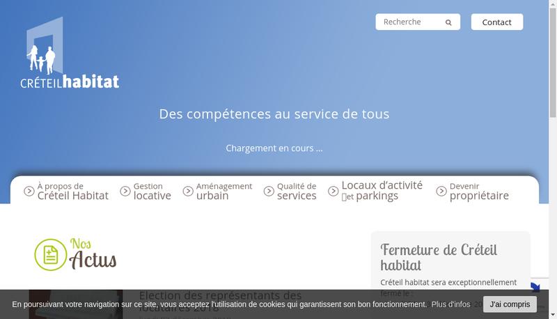 Capture d'écran du site de SEMIC