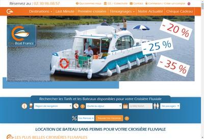 Site internet de Cris' Boat Croisieres Comptoir Nautique