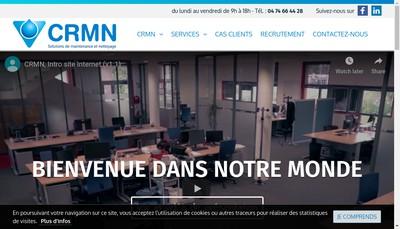 Site internet de Crmn