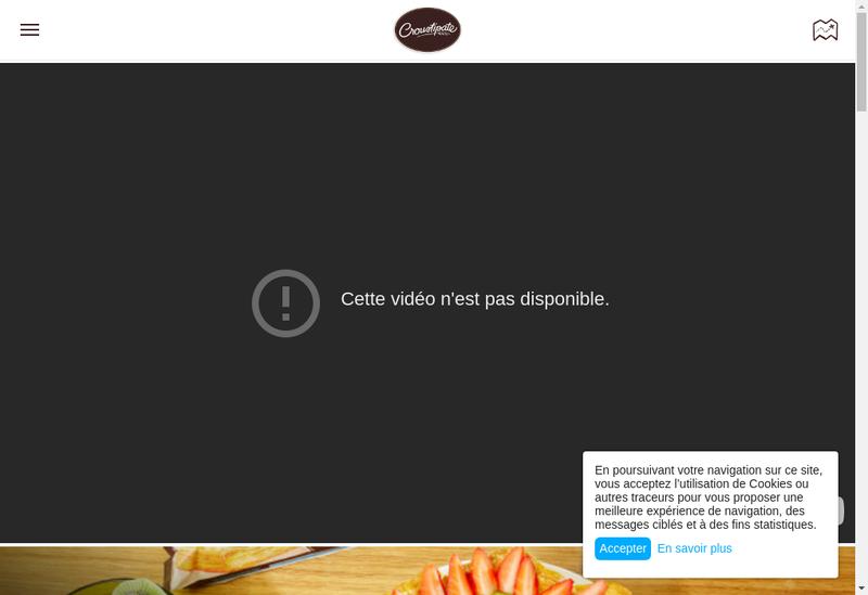 Capture d'écran du site de Cerelia Lievin