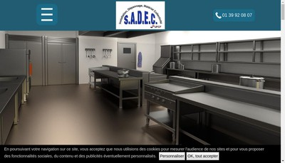 Site internet de SADEC