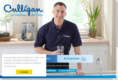 Site internet de Culligan France