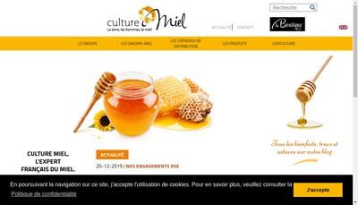 Site internet de Miels Villeneuve - Culture Miel - l'Abeille Royale - l'Abeille Delicieuse - l'Abeille Laborieuse