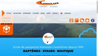 Site internet de Cumulus