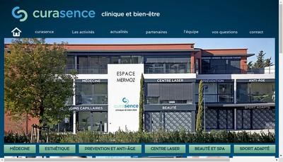 Site internet de Curasence