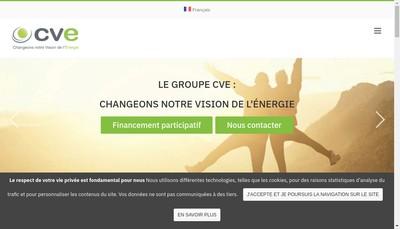 Site internet de Cap Vert Energie Invest 5