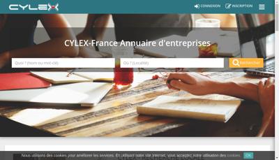Capture d'écran du site de Cuirs et Cles Cordonnerie de Paris