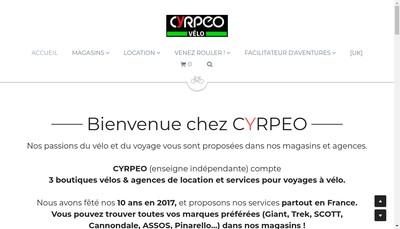 Site internet de Cyrpeo