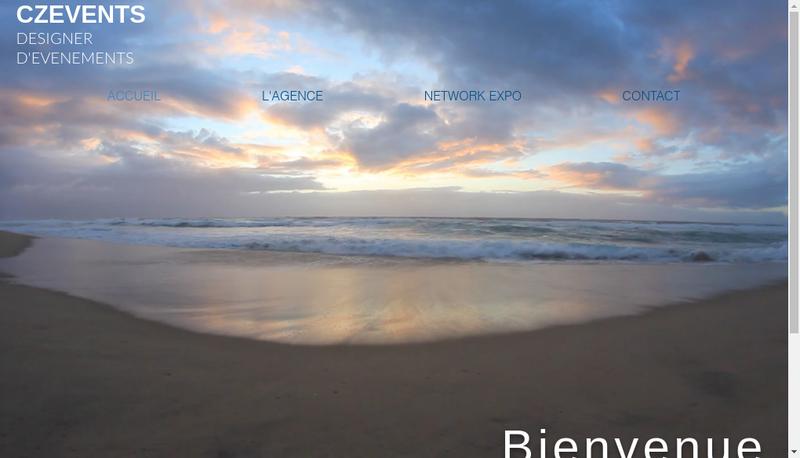 Capture d'écran du site de CZ Events NetworkExpo