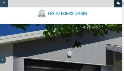 Site internet de Atelier de Metallerie Dabin