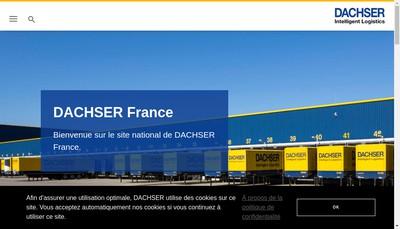 Site internet de Dachser France