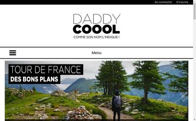 Site internet de Daddy Cool