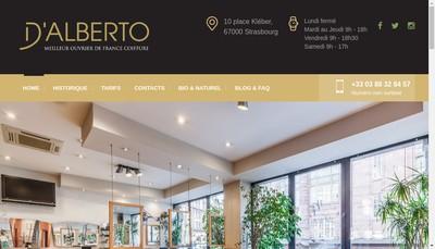 Site internet de SARL d'Alberto