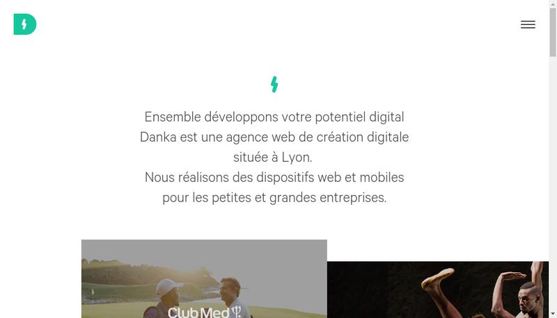 Site internet de Danka Studio