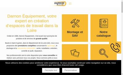 Site internet de Darnon Equipement
