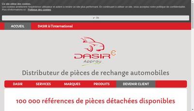 Site internet de DASIR