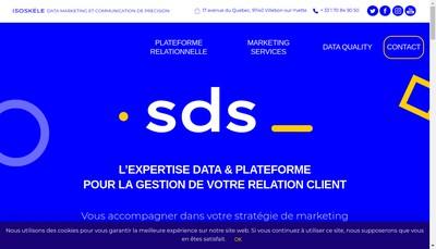 Site internet de Sogec Datamark Services