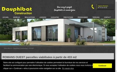 Site internet de Dauphibat